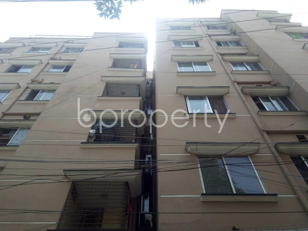 Front view - 3 Bed Apartment for Sale in Mirpur, Dhaka - 1893465