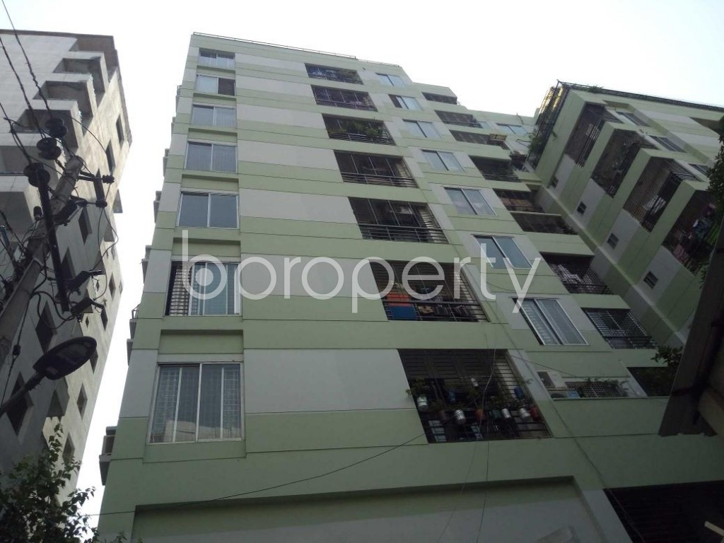 Front view - 3 Bed Apartment for Sale in Kalabagan, Dhaka - 1893758