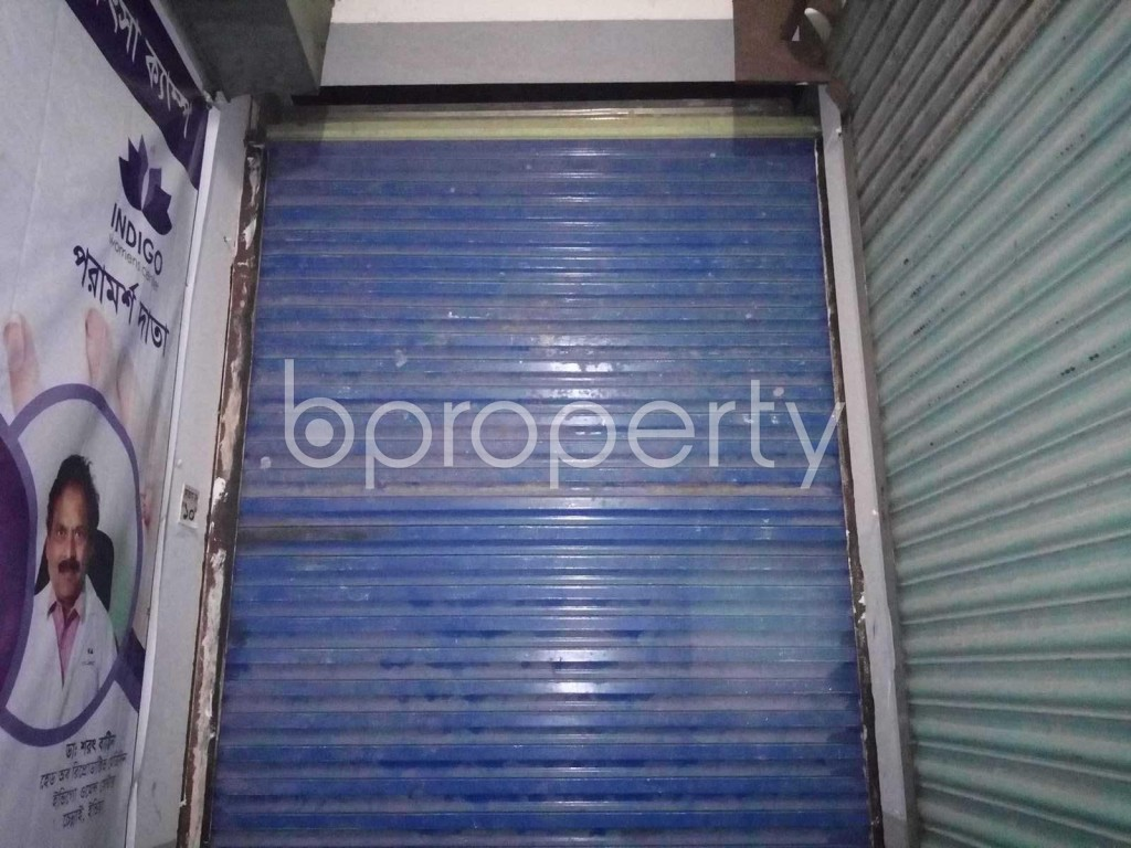 Front view - Shop to Rent in Kuril , Dhaka - 1893825