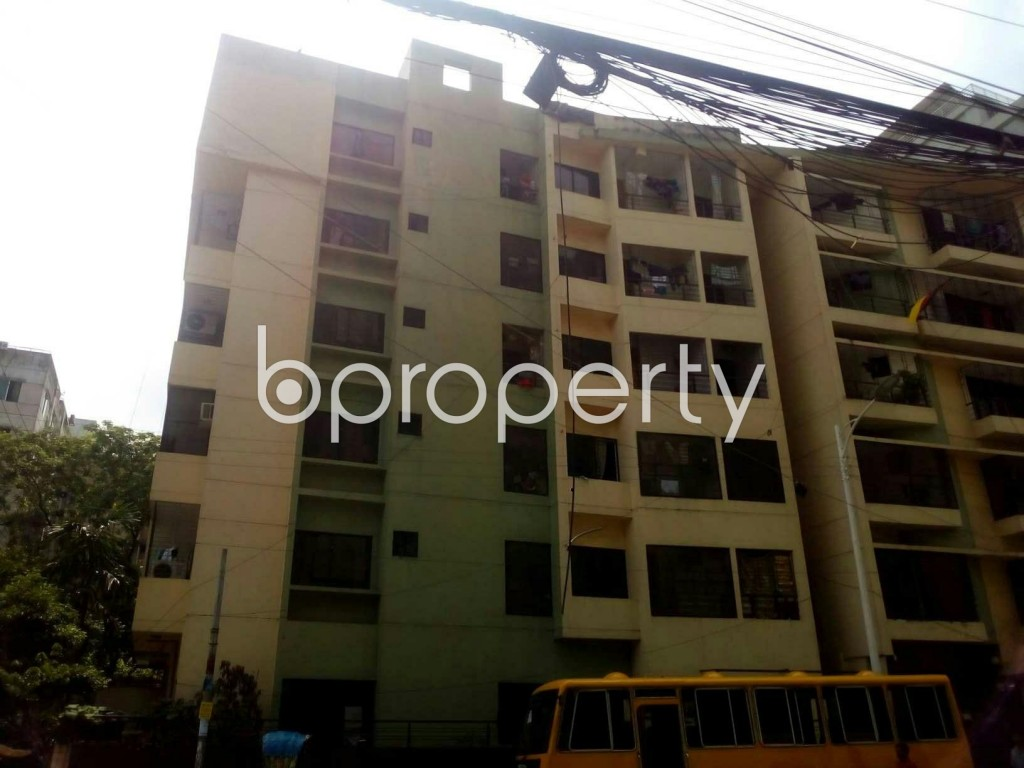 Front view - 3 Bed Apartment for Sale in Uttara, Dhaka - 1893832