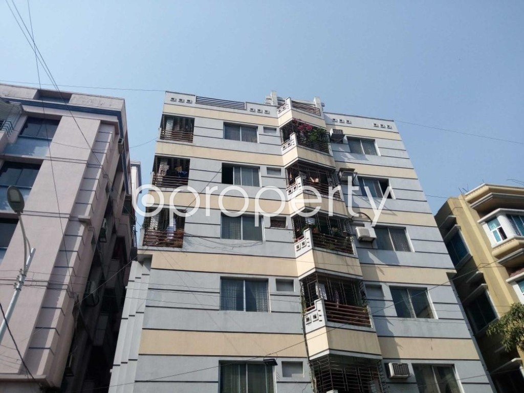 Front view - 3 Bed Apartment for Sale in Uttara, Dhaka - 1893876