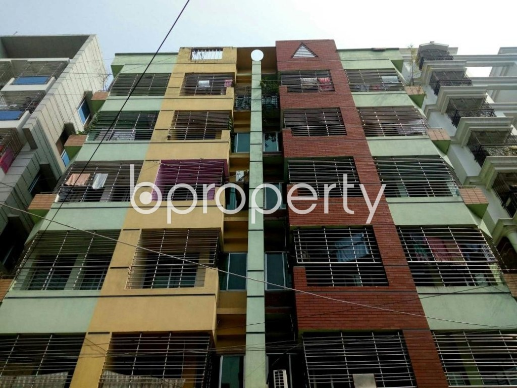 Front view - 3 Bed Apartment for Sale in Uttara, Dhaka - 1893888
