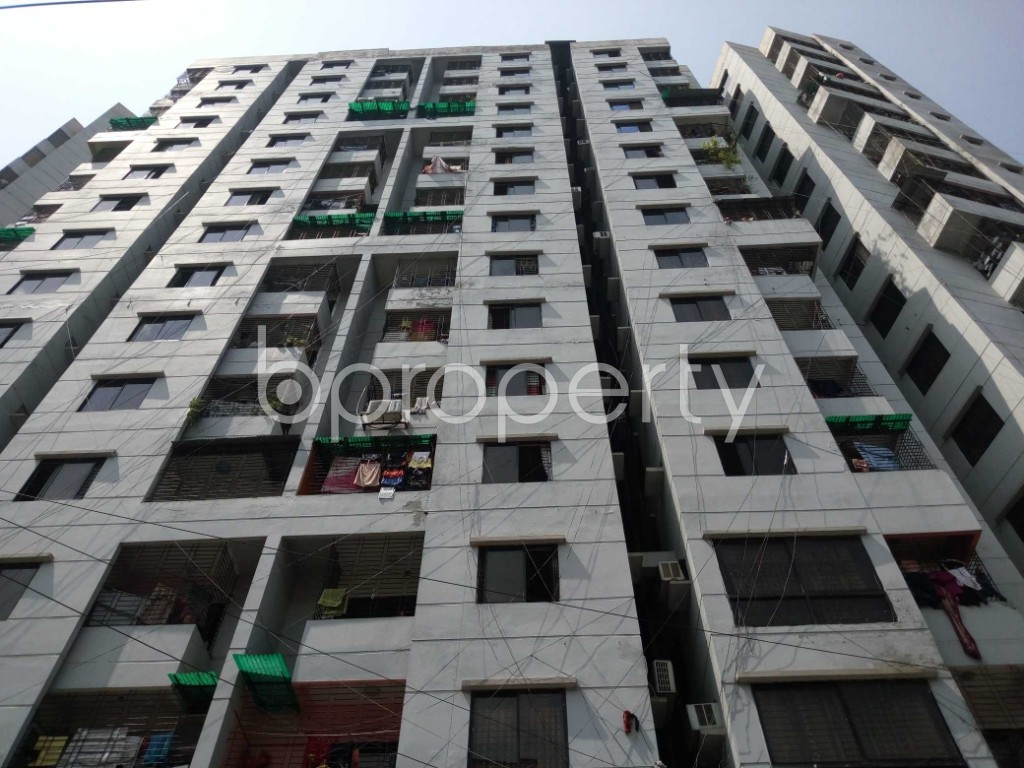 Front view - 3 Bed Apartment for Sale in Mirpur, Dhaka - 1893978