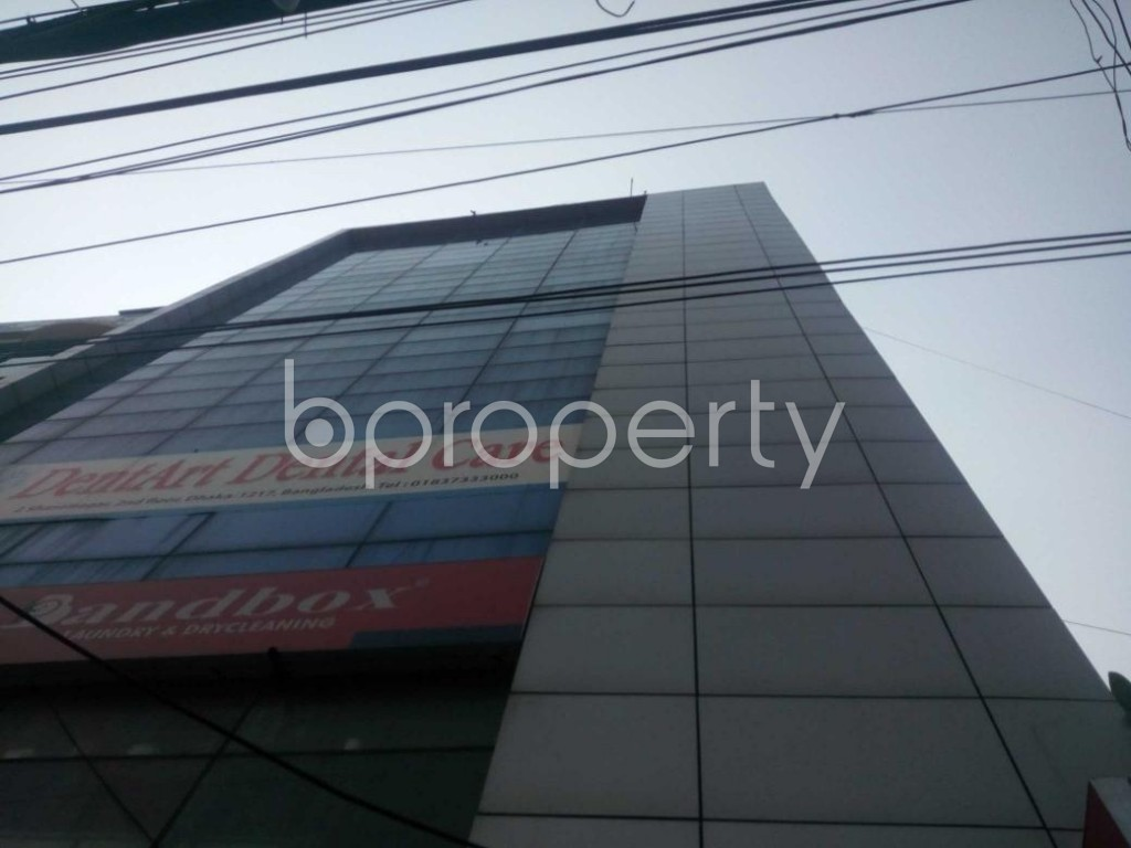Front view - Office to Rent in Shantinagar, Dhaka - 1894056