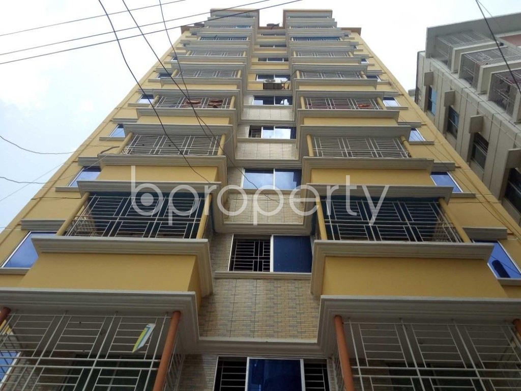 Front view - 3 Bed Apartment for Sale in Mirpur, Dhaka - 1894201