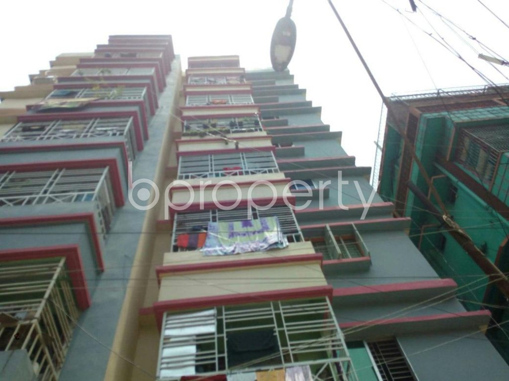 Front view - 3 Bed Apartment for Sale in Sutrapur, Dhaka - 1894220