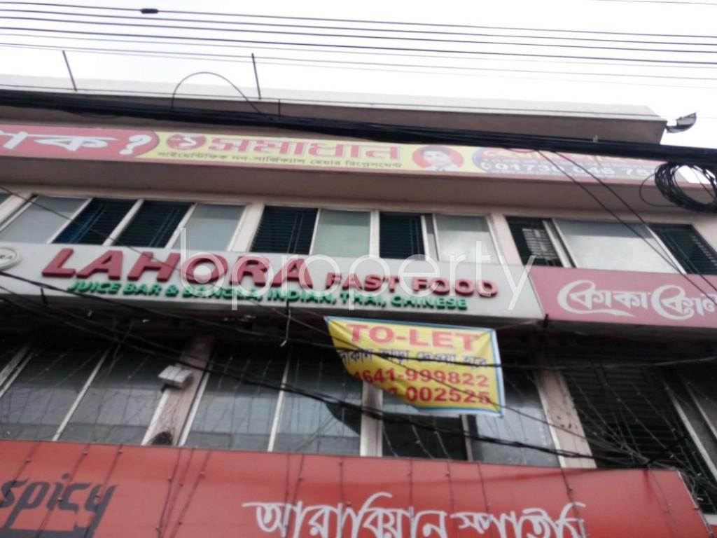 Front view - Shop to Rent in Joar Sahara, Dhaka - 1894223