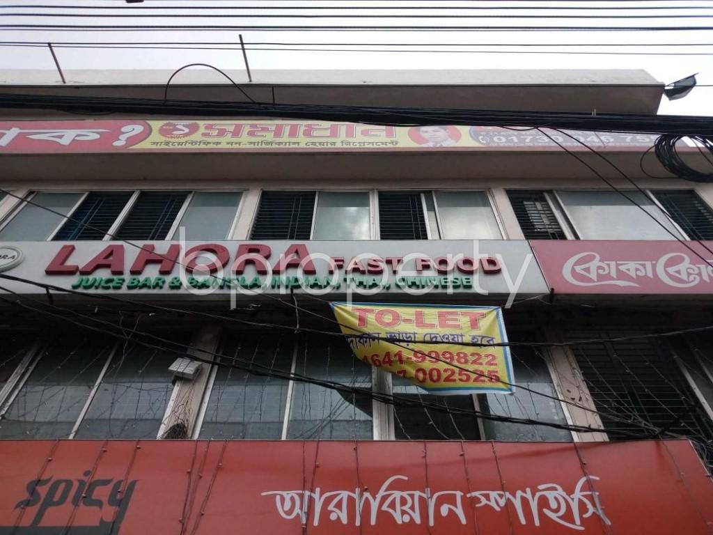 Front view - Shop to Rent in Joar Sahara, Dhaka - 1894226