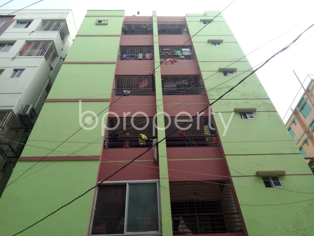 Front view - 3 Bed Apartment for Sale in Uttara, Dhaka - 1894320