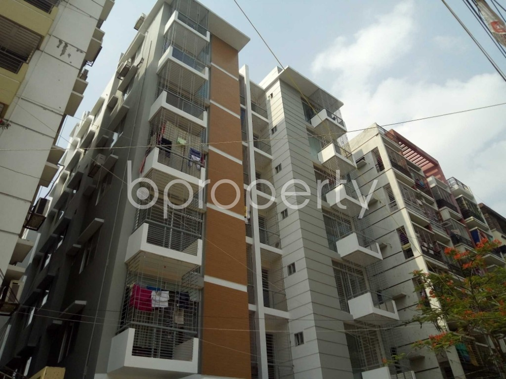 Front view - 3 Bed Apartment for Sale in Uttara, Dhaka - 1893896