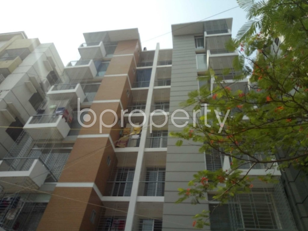 Front view - 3 Bed Apartment for Sale in Uttara, Dhaka - 1893907