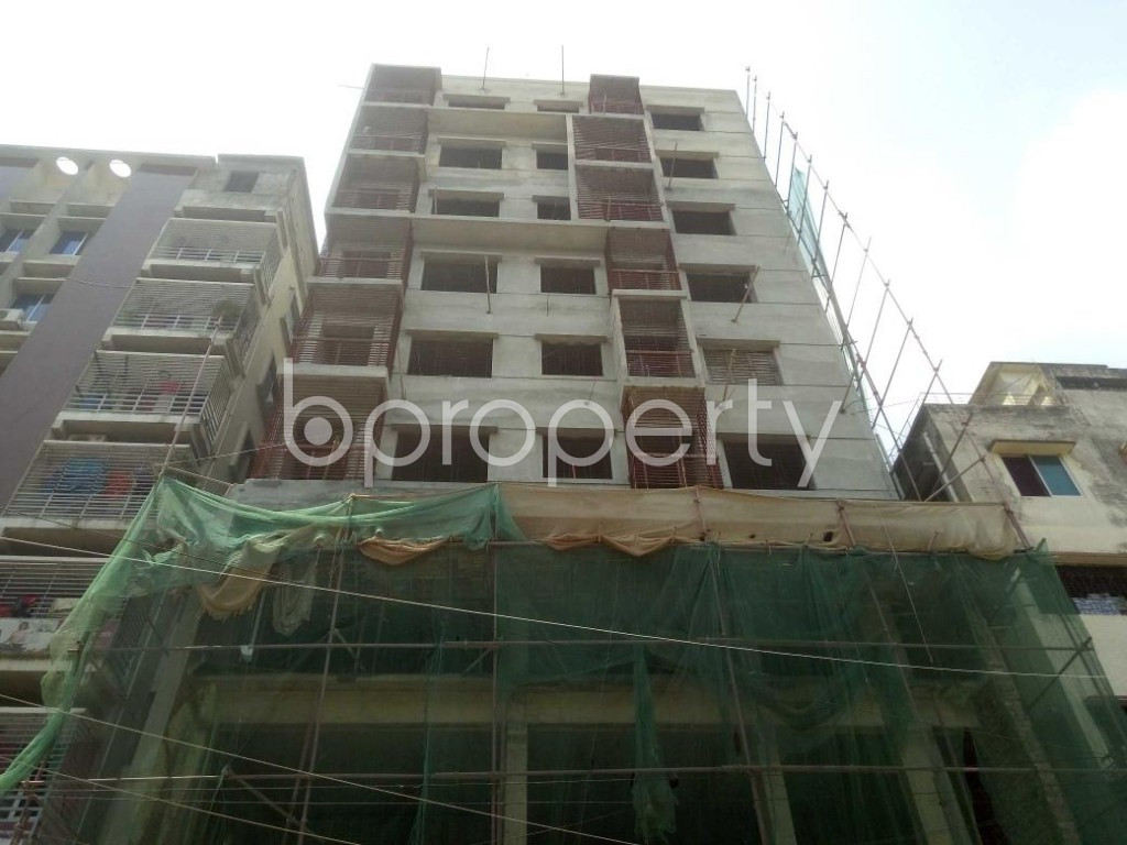 Front view - 3 Bed Apartment for Sale in Mirpur, Dhaka - 1894732