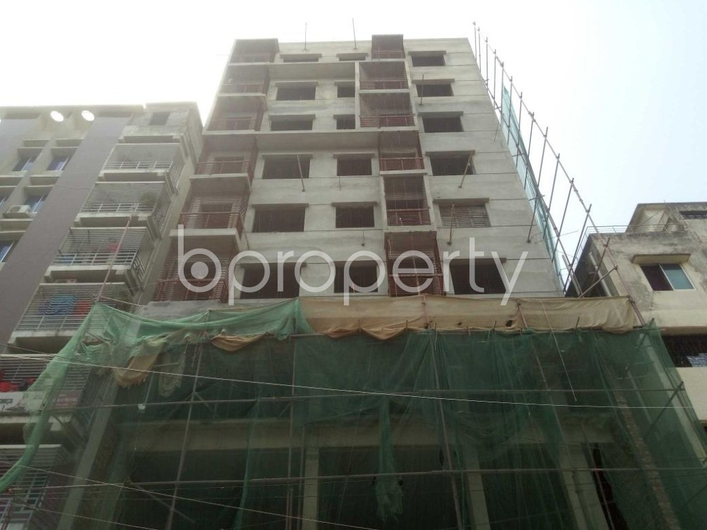 Front view - 3 Bed Apartment for Sale in Mirpur, Dhaka - 1894734