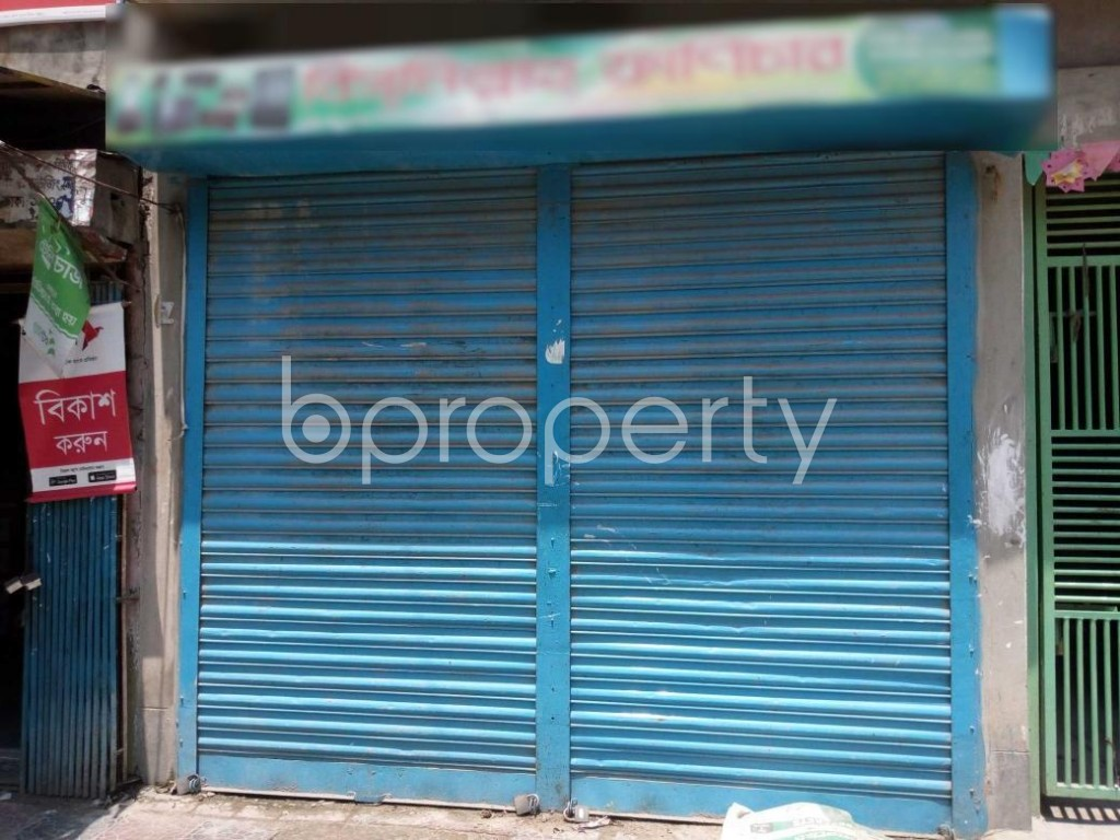 Front view - Shop to Rent in Mohammadpur, Dhaka - 1895082