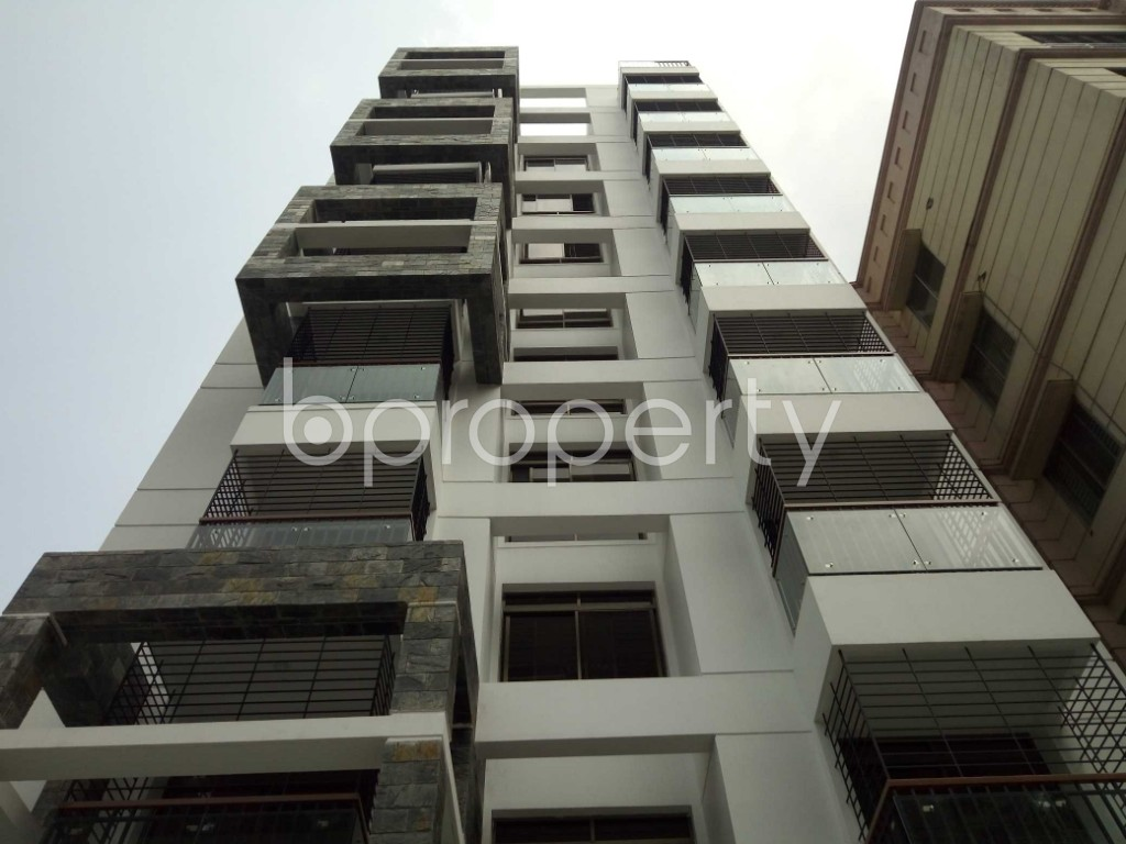 Front view - 3 Bed Apartment for Sale in Uttara, Dhaka - 1895344