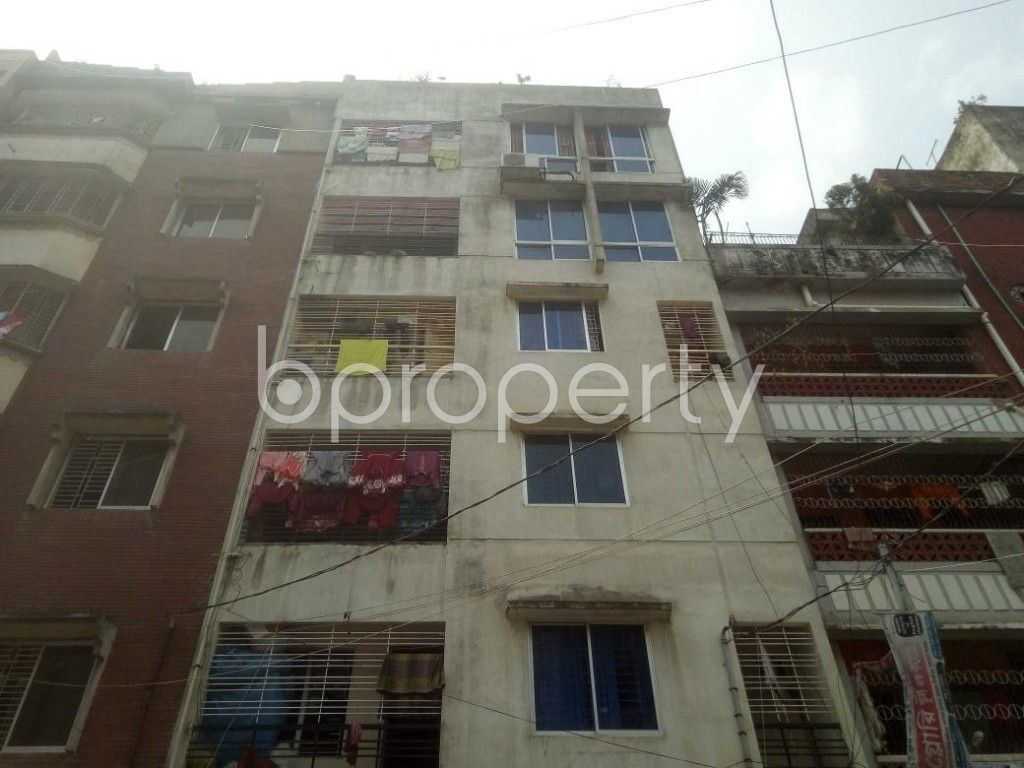 Front view - 3 Bed Apartment for Sale in Mirpur, Dhaka - 1895404