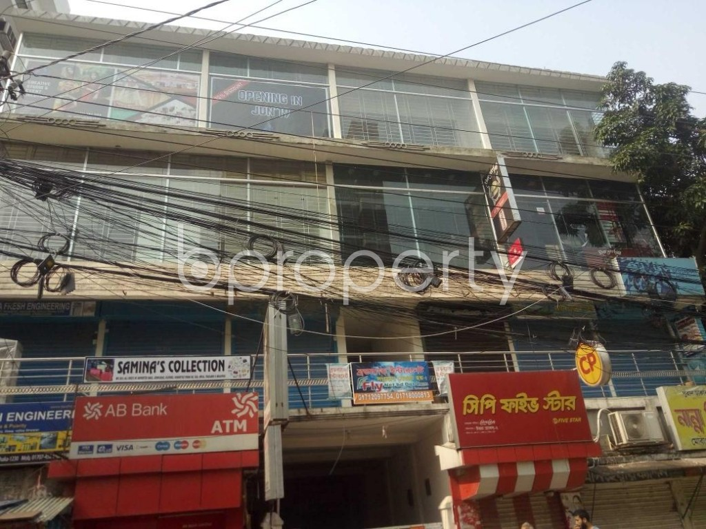 Front view - Office to Rent in Uttara, Dhaka - 1895449