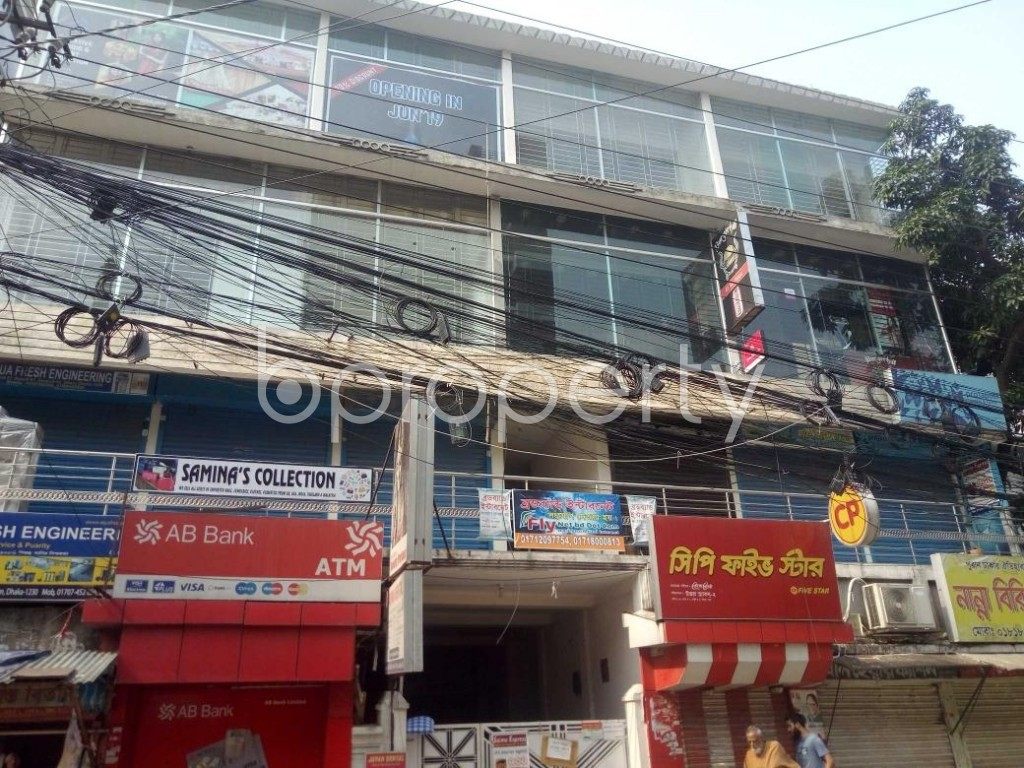 Front view - Office to Rent in Uttara, Dhaka - 1895452
