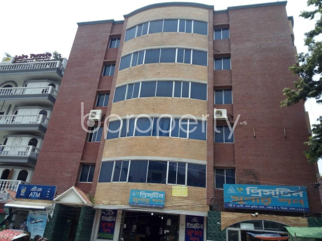 Front view - Office to Rent in Uttara, Dhaka - 1895502