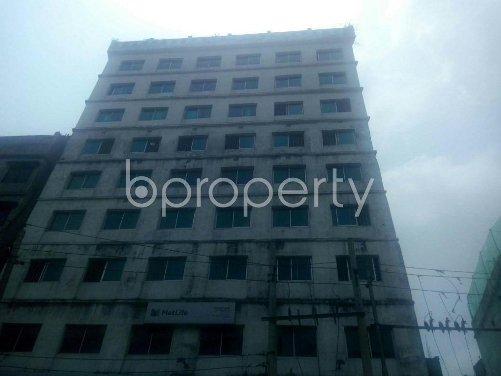 Front view - Office to Rent in Malibagh, Dhaka - 1895600