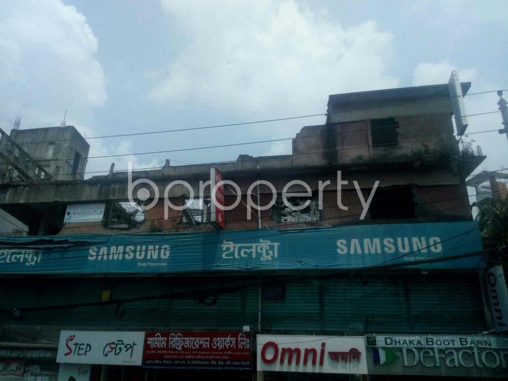 Front view - Office to Rent in Rampura, Dhaka - 1895601