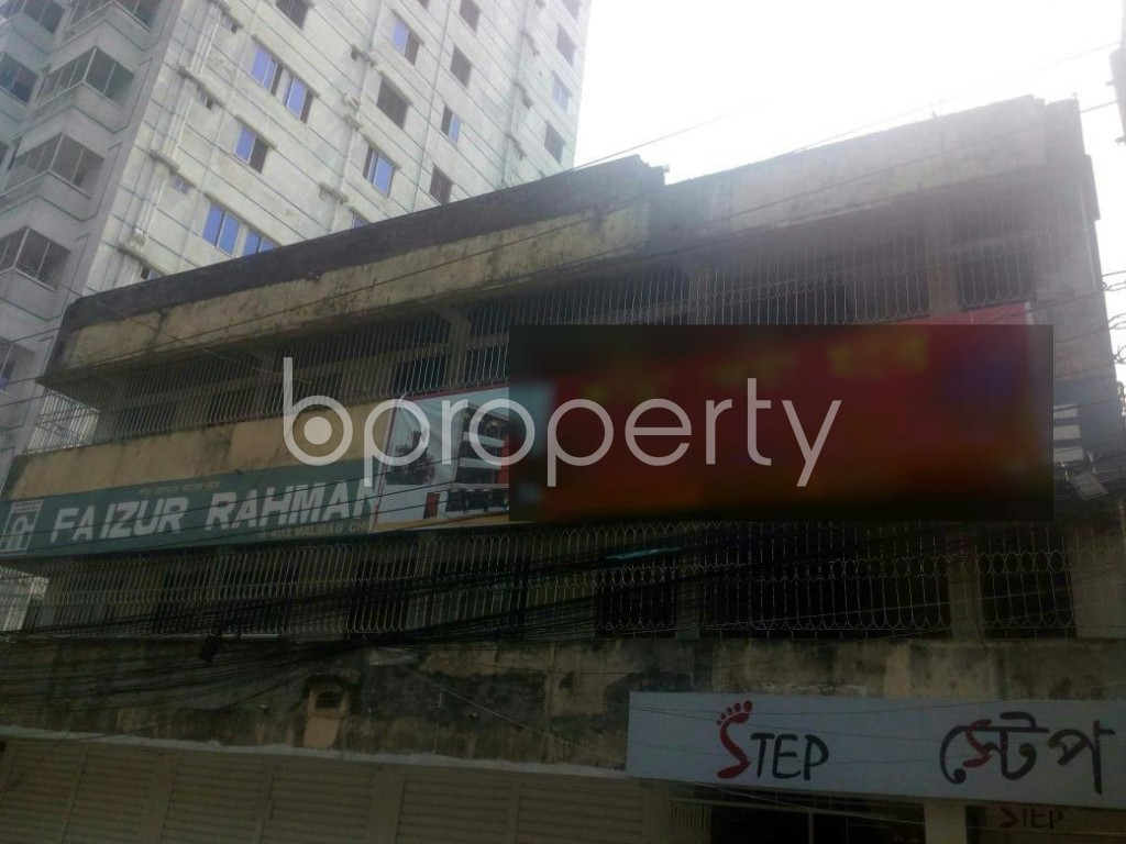 Outside view - Shop to Rent in Malibagh, Dhaka - 1895609