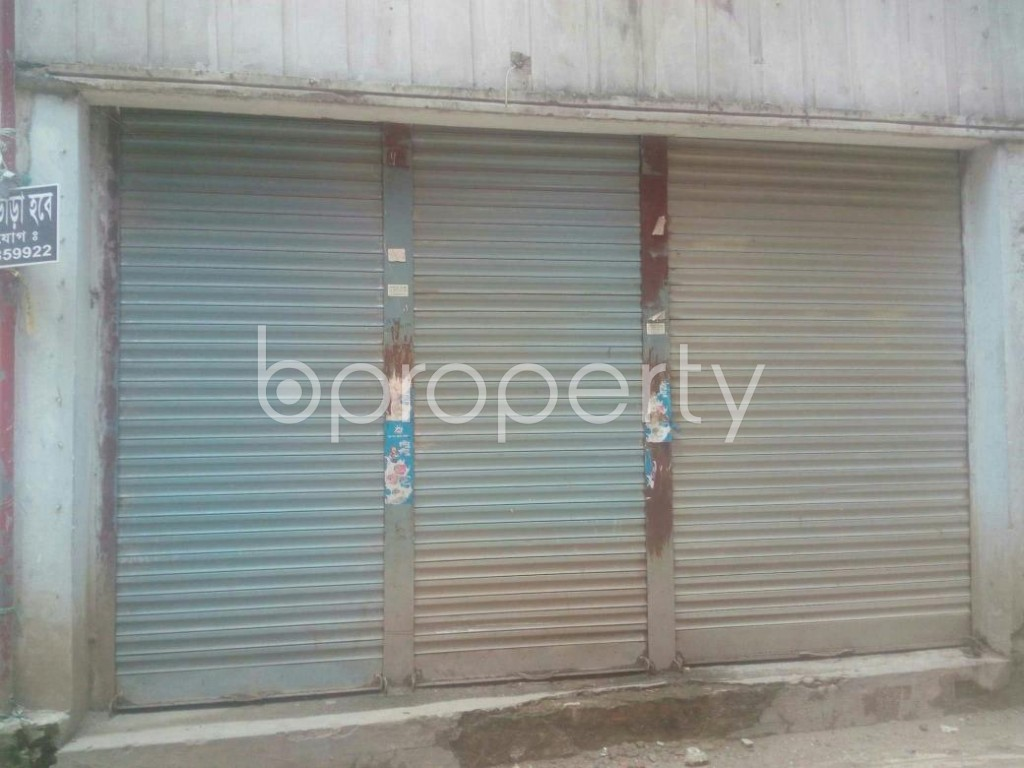 Front view - Shop to Rent in Malibagh, Dhaka - 1895663