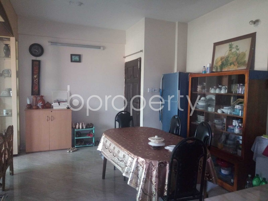 Dine/Dining - 3 Bed Apartment for Sale in Maghbazar, Dhaka - 1895692