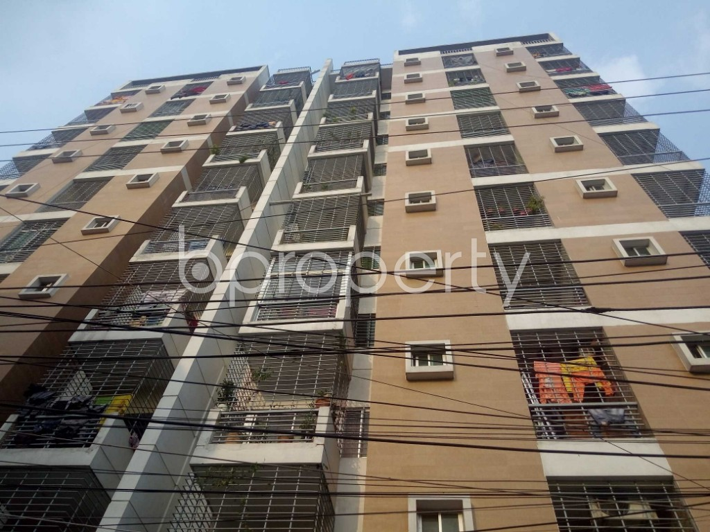 Outside view - 3 Bed Apartment for Sale in Maghbazar, Dhaka - 1895695