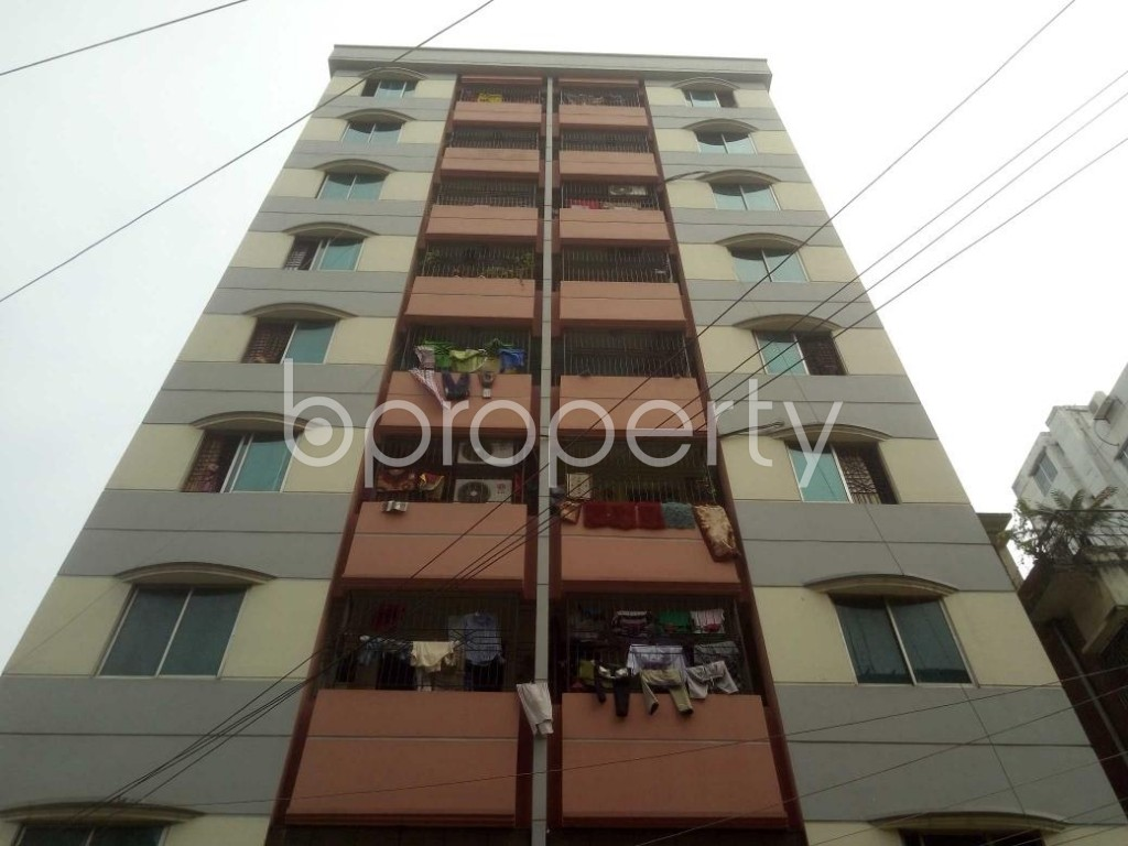 Front view - 3 Bed Apartment to Rent in Mirpur, Dhaka - 1895756
