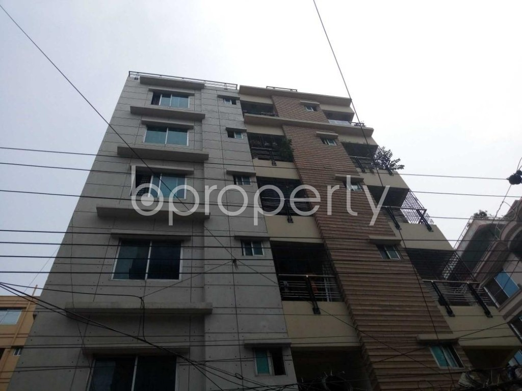 Front view - 3 Bed Apartment to Rent in Uttara, Dhaka - 1895792