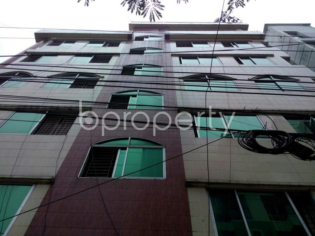 Front view - 2 Bed Apartment to Rent in Bashundhara R-A, Dhaka - 1895811
