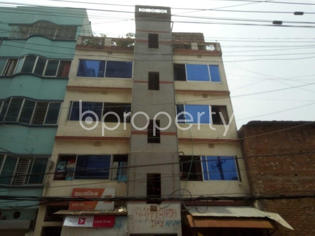 Front view - 2 Bed Apartment to Rent in Mirpur, Dhaka - 1895828
