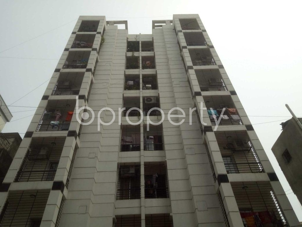Front view - 3 Bed Apartment to Rent in Mirpur, Dhaka - 1896002