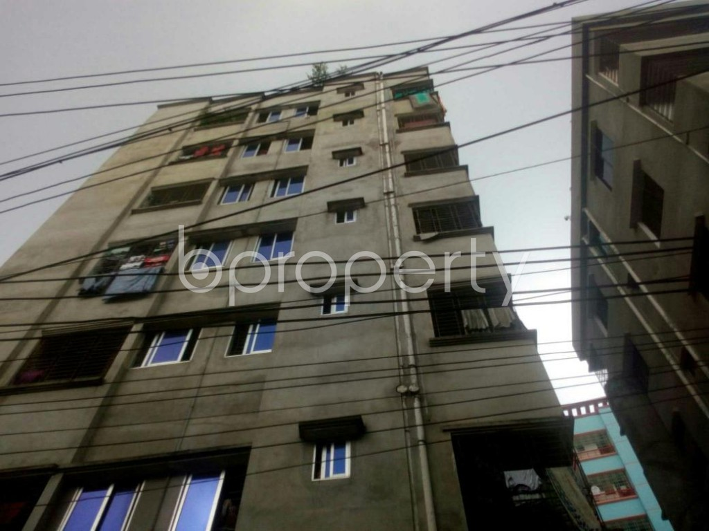 Front view - 1 Bed Apartment to Rent in Rampura, Dhaka - 1896008