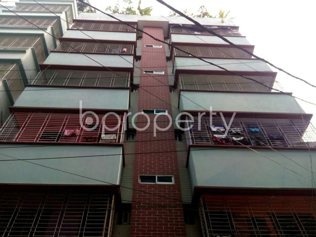Front view - 2 Bed Apartment to Rent in Badda, Dhaka - 1896011