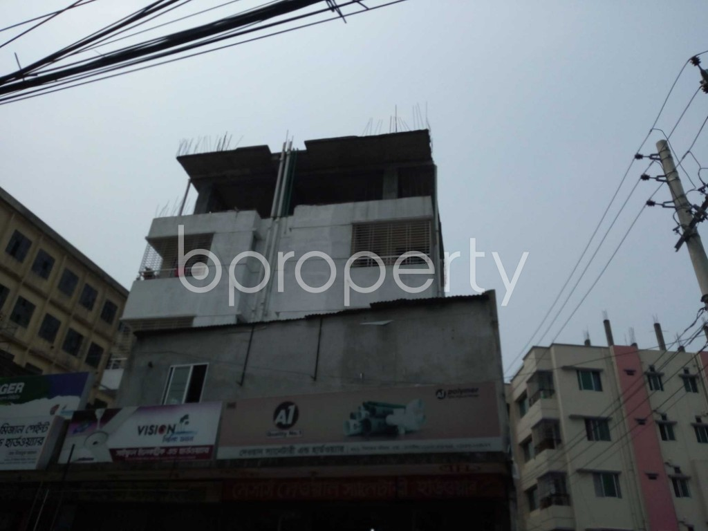 Outside view - 3 Bed Apartment to Rent in Khilkhet, Dhaka - 1896013