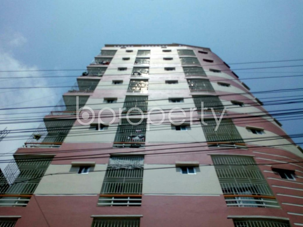 Front view - 3 Bed Apartment for Sale in Bagichagaon, Cumilla - 1896110