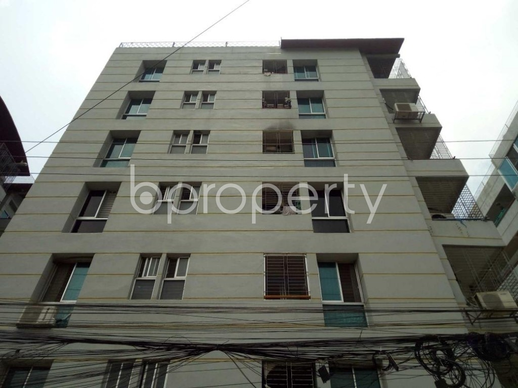 Front view - 4 Bed Apartment for Sale in Bashundhara R-A, Dhaka - 1896156