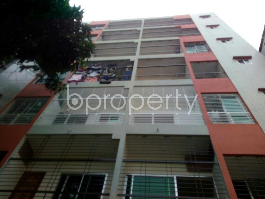Front view - 3 Bed Apartment to Rent in Mohakhali, Dhaka - 1896657