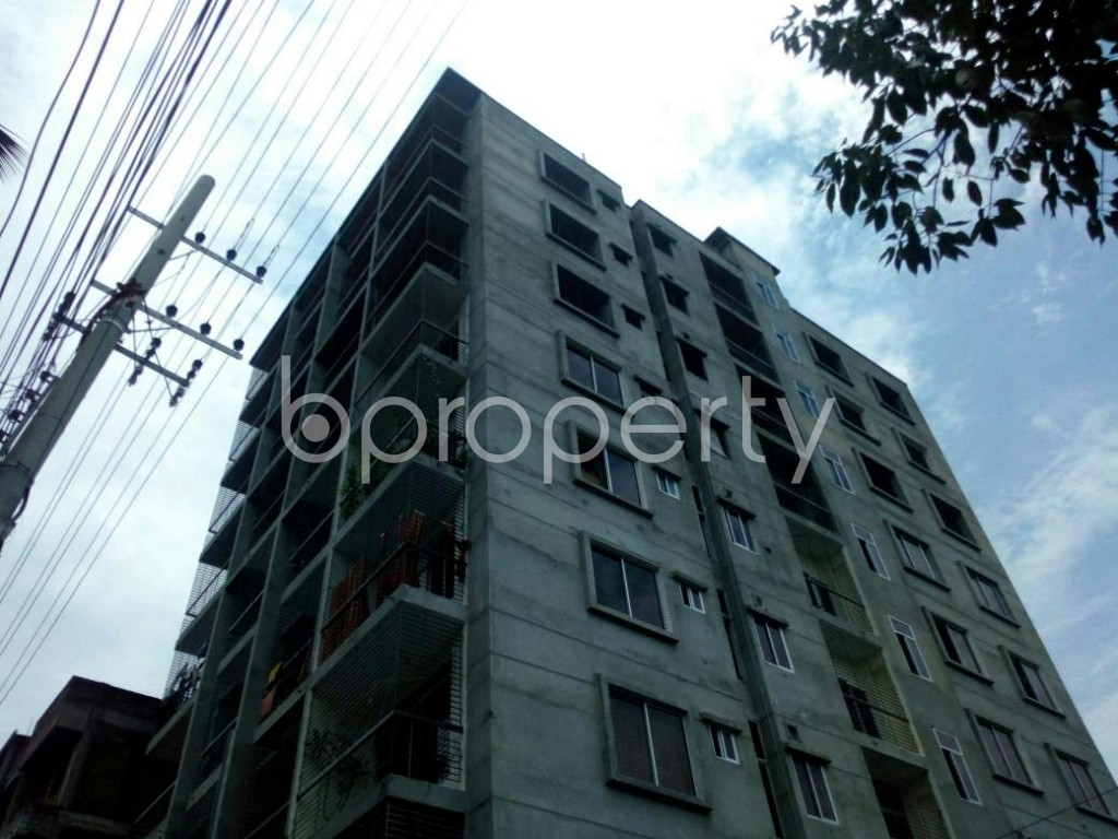 Outside view - 3 Bed Apartment for Sale in Race Course, Cumilla - 1896850