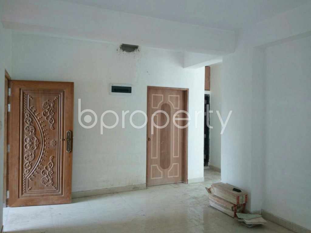 Empty Room - 3 Bed Apartment for Sale in Bashundhara R-A, Dhaka - 1896896