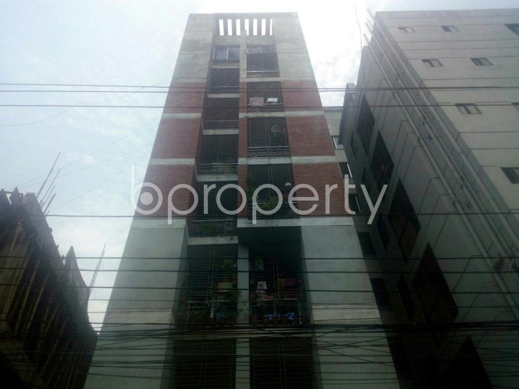 Front view - 3 Bed Apartment to Rent in Rampura, Dhaka - 1897010