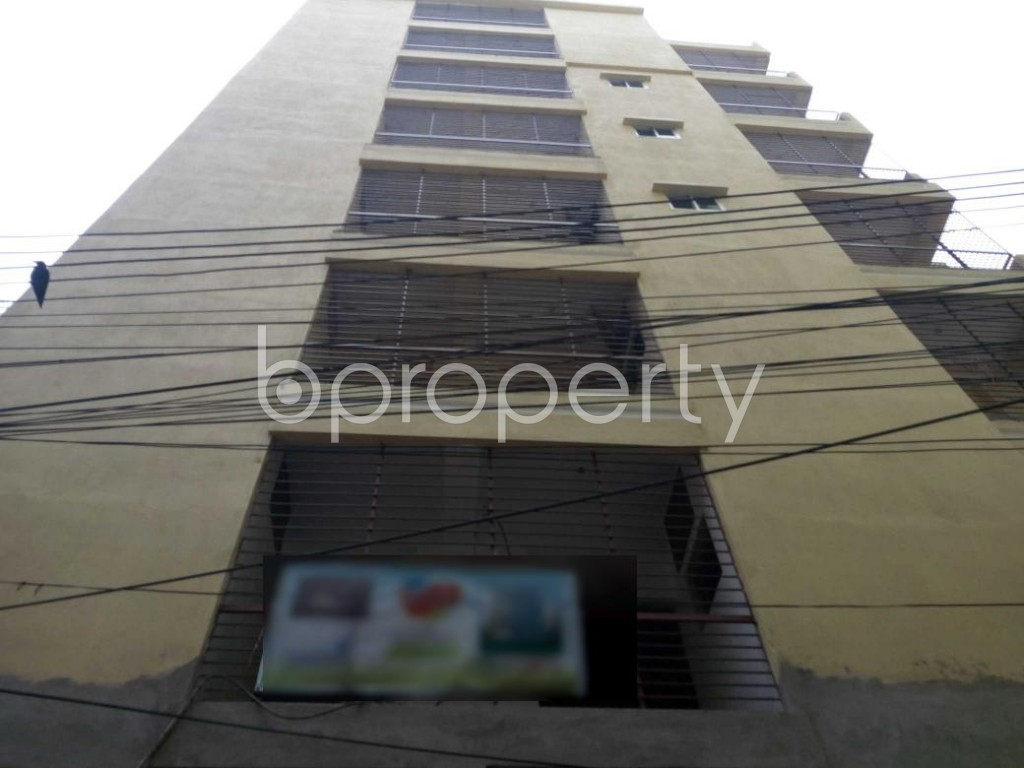 Front view - 3 Bed Apartment for Sale in Bakalia, Chattogram - 1897211