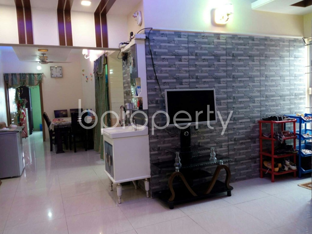 Dine/Dining - 3 Bed Apartment for Sale in Bayazid, Chattogram - 1897248