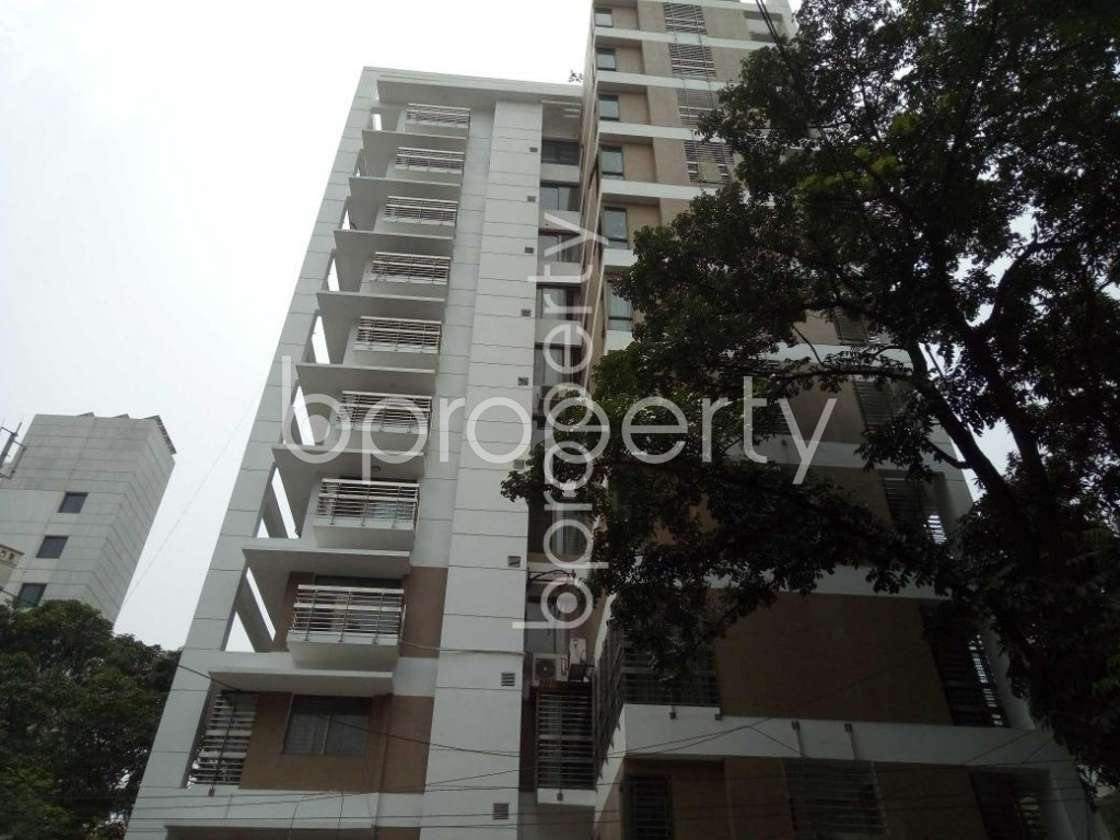 Front view - 3 Bed Apartment for Sale in Banani, Dhaka - 1897283