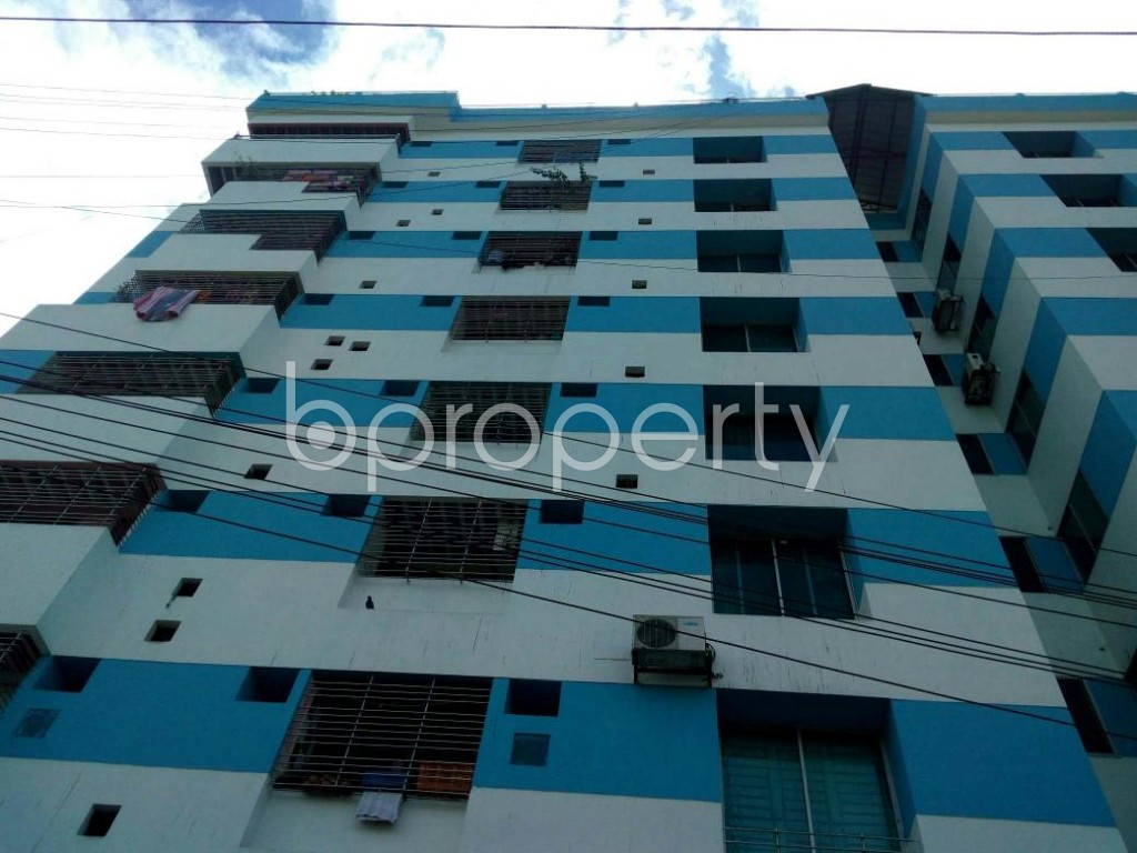 Front view - 3 Bed Apartment for Sale in Double Mooring, Chattogram - 1897558
