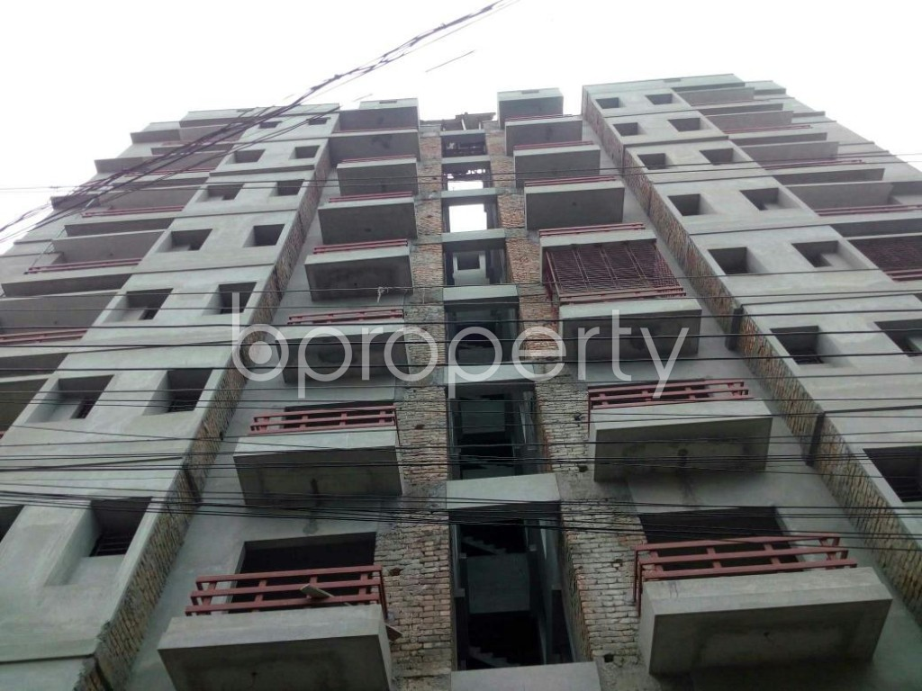 Front view - 3 Bed Apartment for Sale in Bagichagaon, Cumilla - 1897994