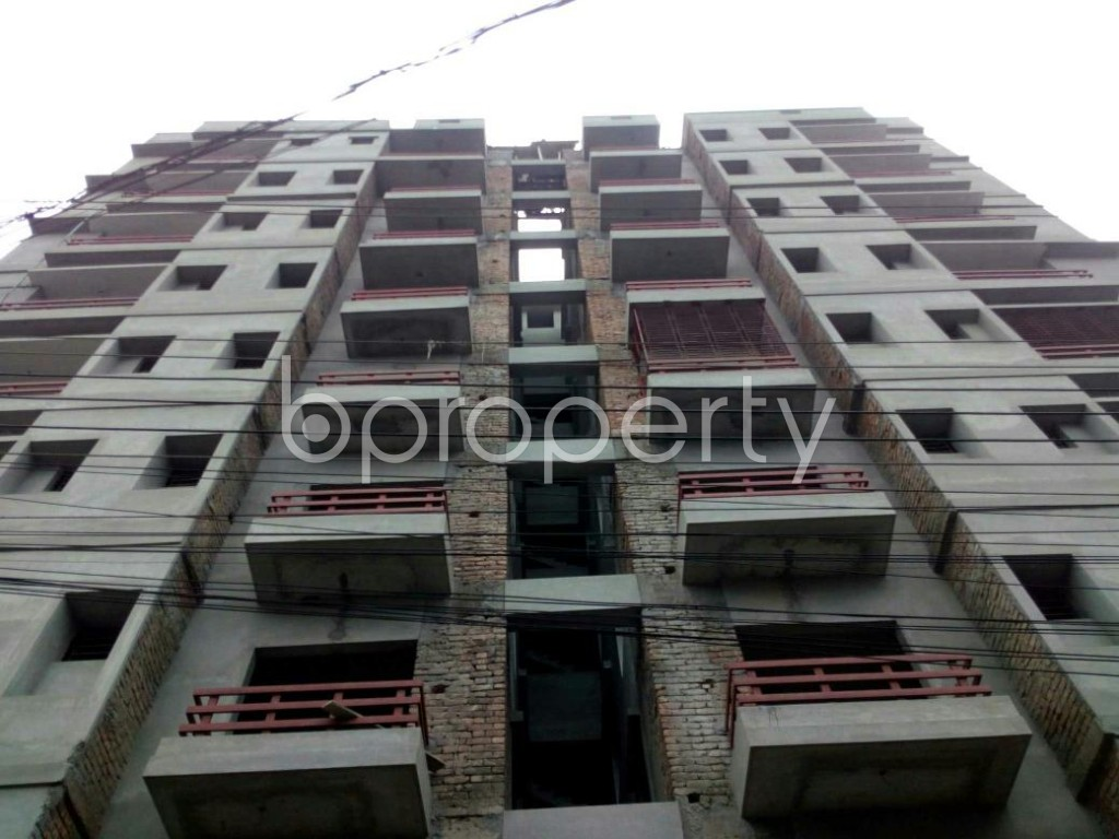 Front view - 3 Bed Apartment for Sale in Bagichagaon, Cumilla - 1897995