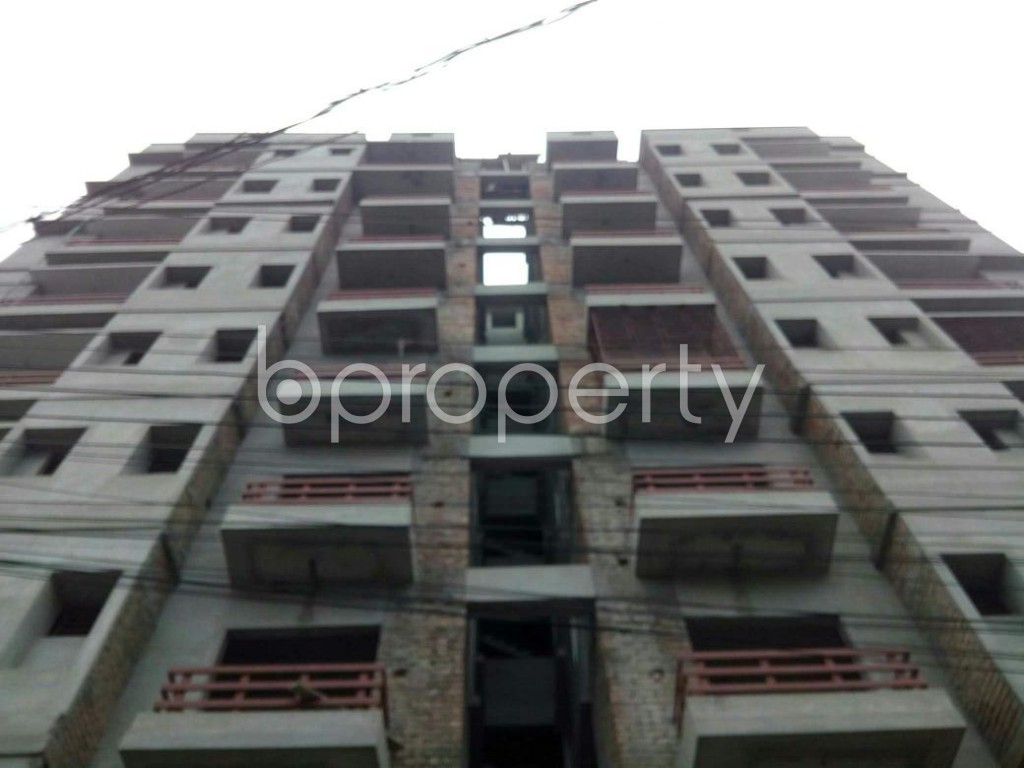 Front view - 3 Bed Apartment for Sale in Bagichagaon, Cumilla - 1897996
